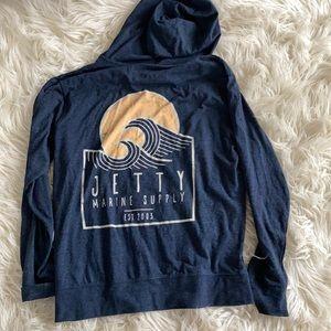 Women's jetty hoodie size M